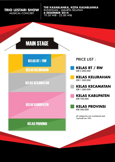 Seating Layout TLS 2014